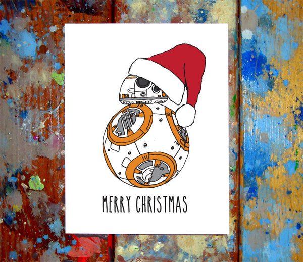 BB8 Christmas Card