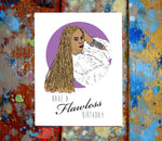 Beyonce Flawless Happy Birthday Card