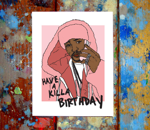 Camron Happy Birthday Greeting Card