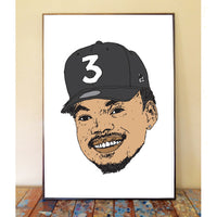 Chance The Rapper Art Print