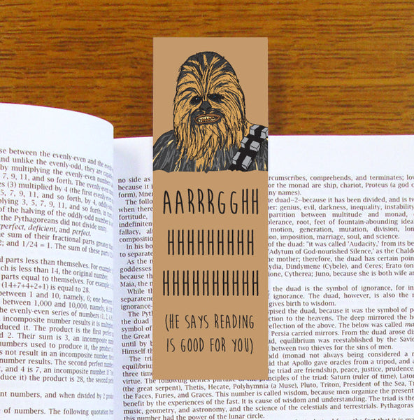 Chewbacca Bookmark