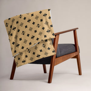 Sopearb1999 Cool S Pattern Throw Blanket - Style 6 Tan