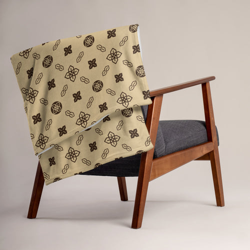 Sopearb1999 Cool S Pattern Throw Blanket - Style 5 Tan