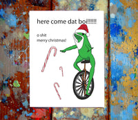 Dat boi Christmas Card