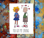 01 Doug Funnie I Love You Card