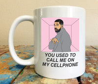 Drake Hotline Bling 11 oz Mug Views From The 6