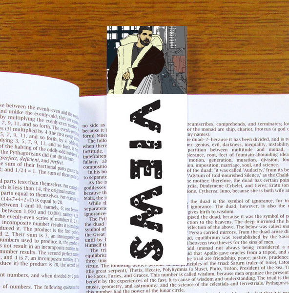 Drake Views Bookmark