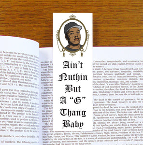 Dr Dre The Chronic Bookmark