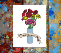 Daisies Mother's Day Greeting Card