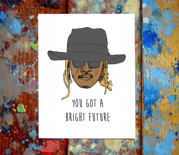 Future Congratulations Card