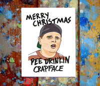 The Sandlot Christmas Card