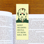Jason Friday The 13th Bookmark