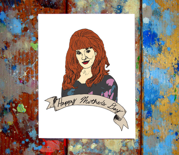 Peggy Bundy Mother's Day Greeting Card