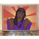 Rick James Dave Chappelle Art Print
