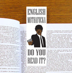 Samuel L Jackson Pulp Fiction Bookmark