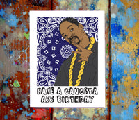 Snoop Dogg Birthday Card