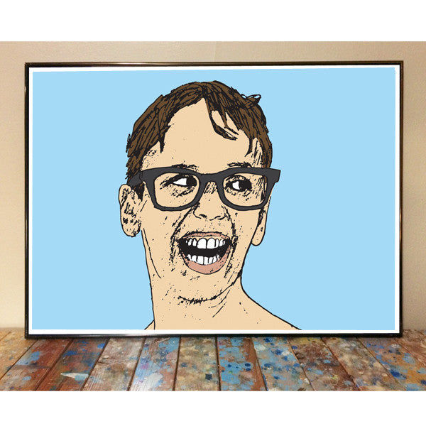 Squints Sandlot Art Print
