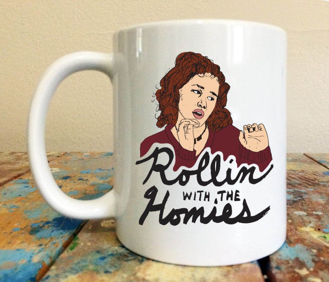 Tai Clueless Rollin With The Homies 11 oz Mug