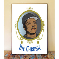Dr. Dre The Chronic Art Print