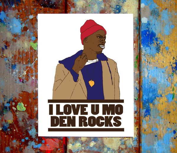 Tyrone Biggums I Love You Card