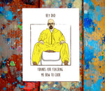 Breaking Bad Mother/Father's Day Greeting Card