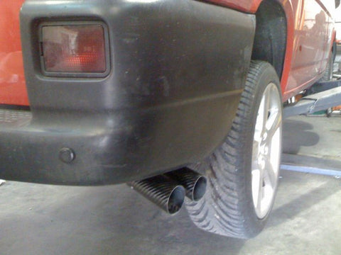 PP Tuning VW T4 TWIN SIDE EXIT EXHAUST SYSTEM BEHIND REAR WHEELS