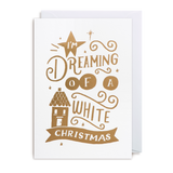 Dreaming Of A White Christmas Card