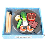 Wooden Wok Play Set