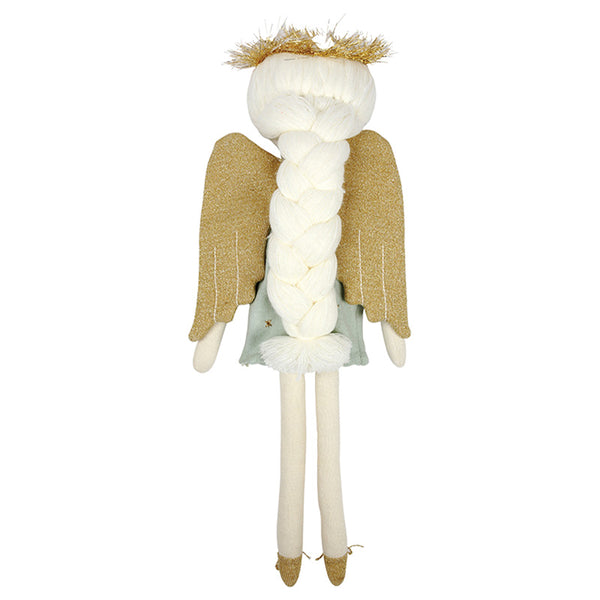 Knitted Angel Cushion
