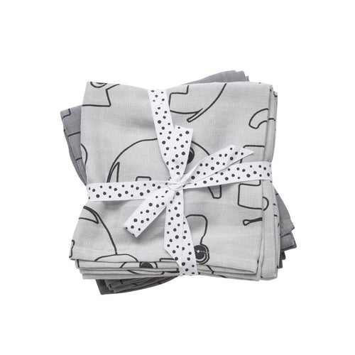 Pattern Swaddle 2 Pack | Grey