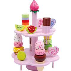 WOODEN SWEETS & TREATS STAND
