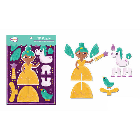 3D PUZZLE SET FAIRY PRINCESS
