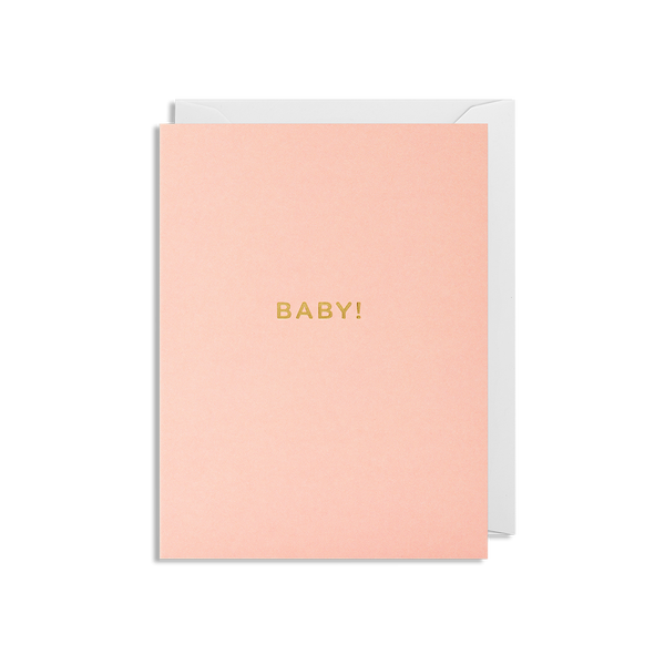 Baby Girl! Mini Card