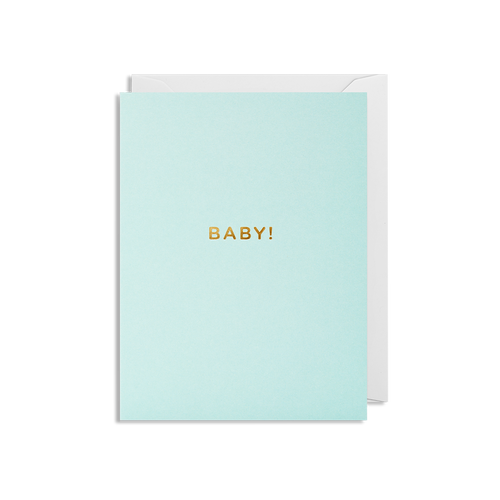 Baby Boy! Mini Card