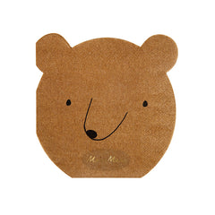 Bear Face Napkins