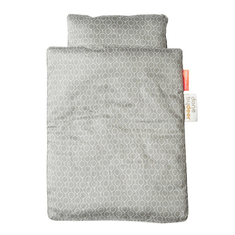 Dolls Bed Bedlinen | Grey