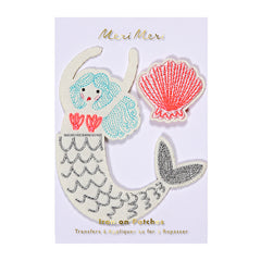 Mermaid Iron on Patches | Meri Meri