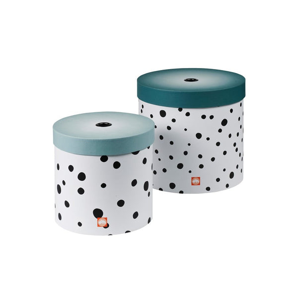Happy Dots Box Set of 2 | Blue