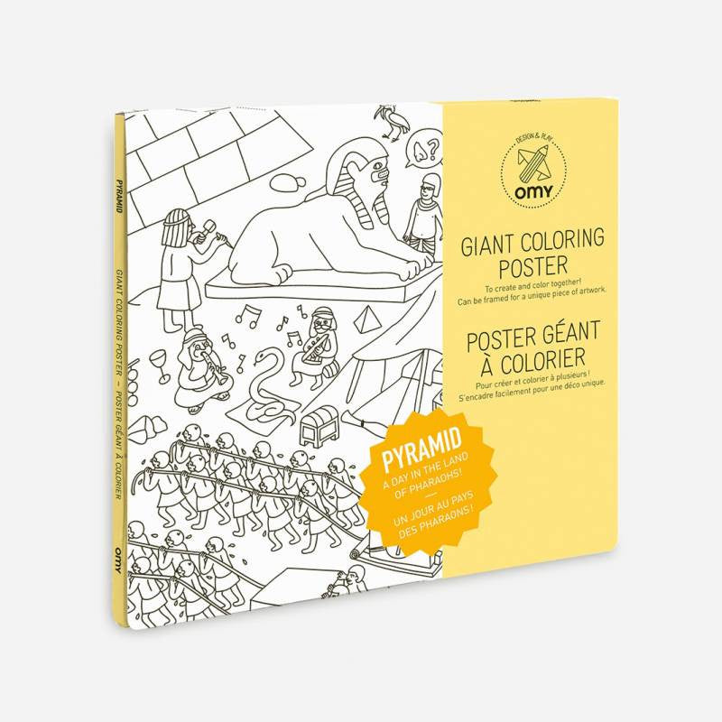 PYRAMID COLOURING POSTER