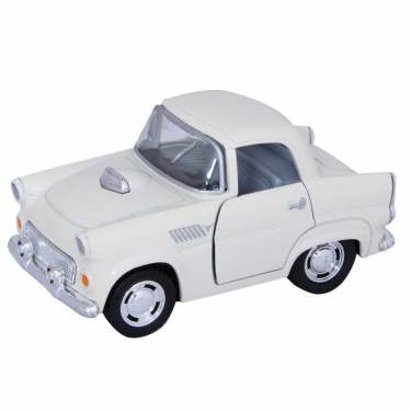 THUNDERBIRD PULL BACK CAR | OFF WHITE