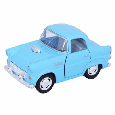 THUNDERBIRD PULL BACK CAR | BLUE