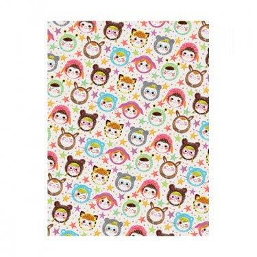 FACES WRAPPING PAPER