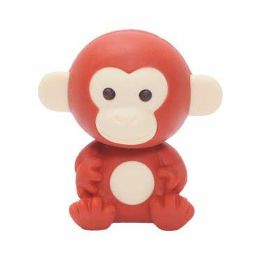 IWAKO MONKEY ERASER | LIGHT BROWN