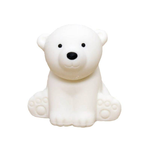 IWAKO POLAR BEAR ERASER | WHITE