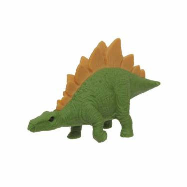 IWAKO STEGOSAURUS ERASER | LIGHT GREEN