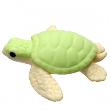 IWAKO TURTLE ERASER GREEN