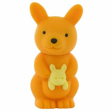 IWAKO KANGAROO ERASER | ORANGE