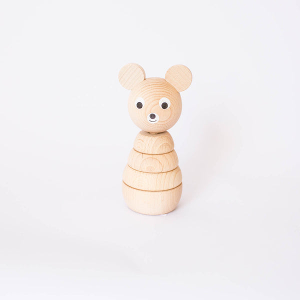 Stacking Wooden Bear