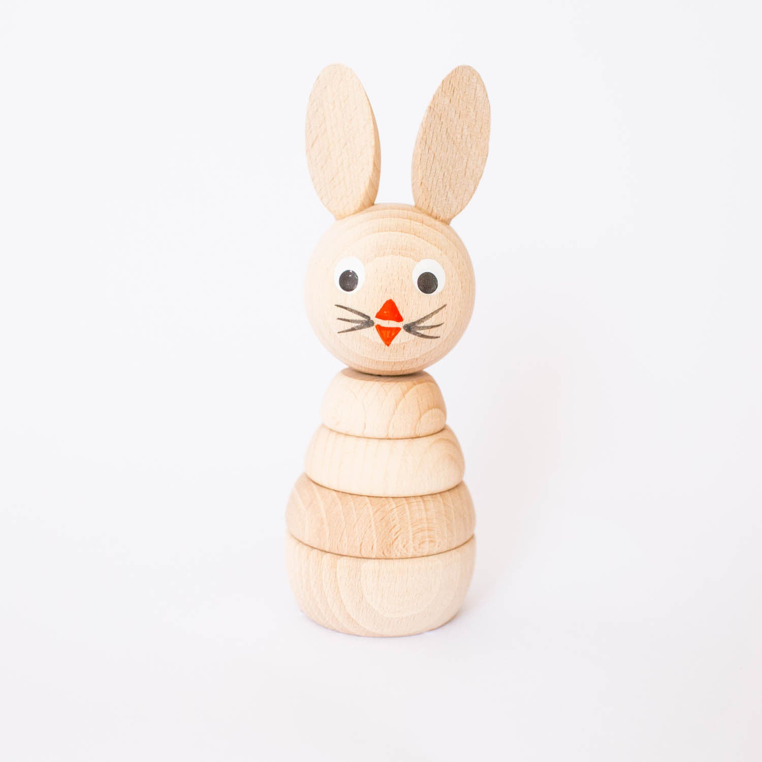 Stacking Wooden Bunny
