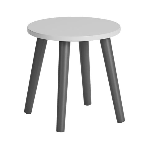 Wooden Stool | Grey